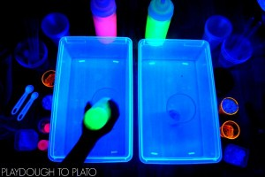 Glowing Magic Potion Station