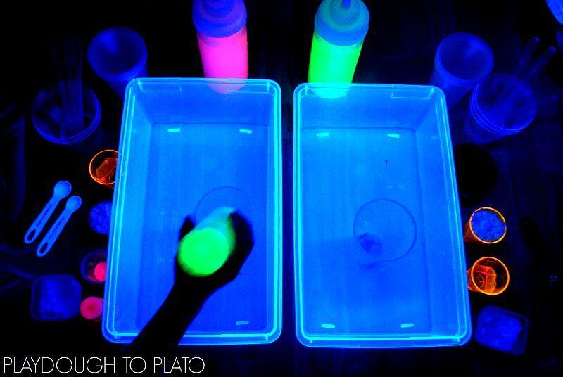 Glowing Magic Potion Station