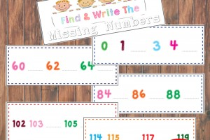 Find and Write Booklet