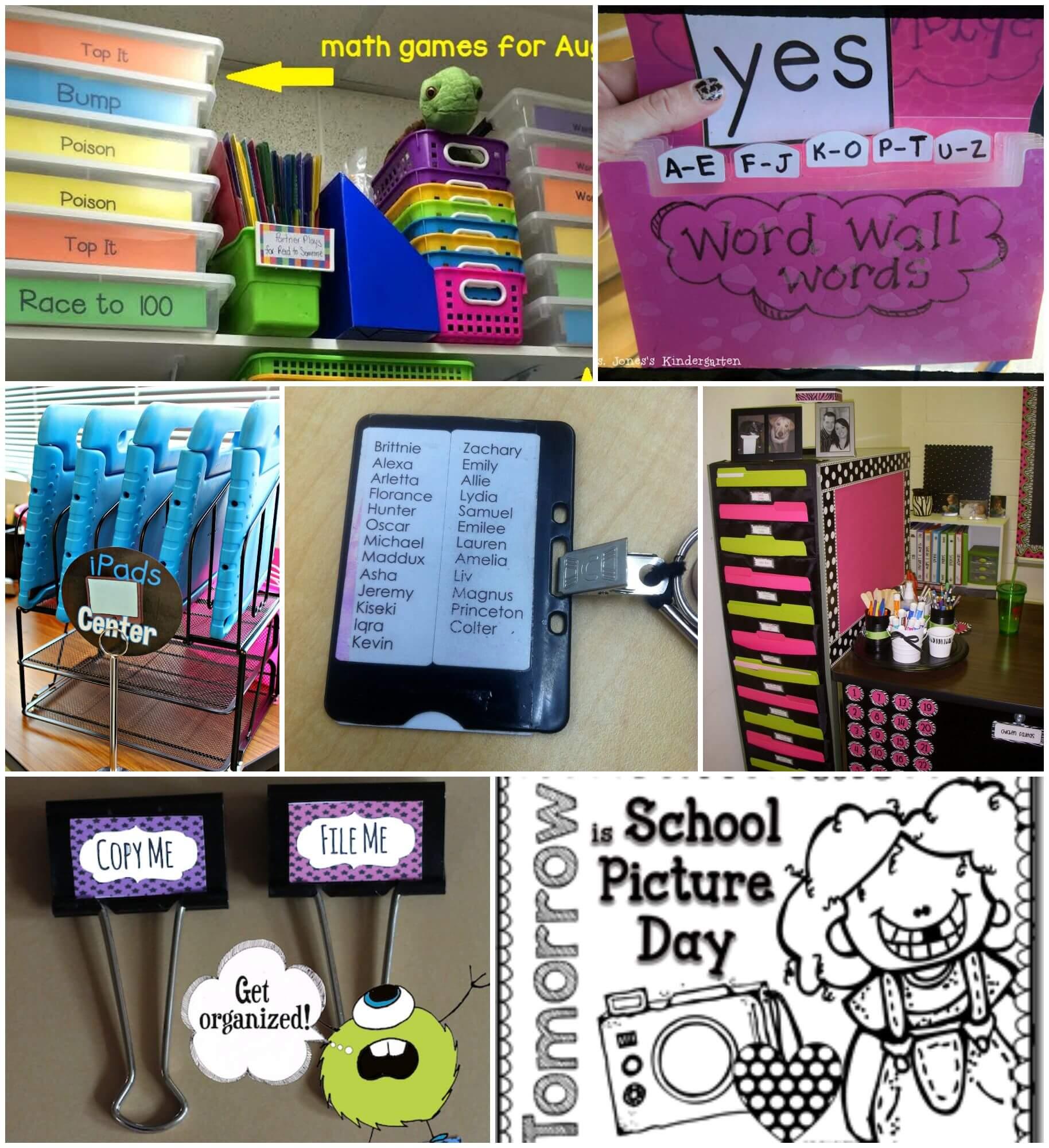 Classroom Design Hacks ~ Brilliant classroom organization hacks playdough to plato