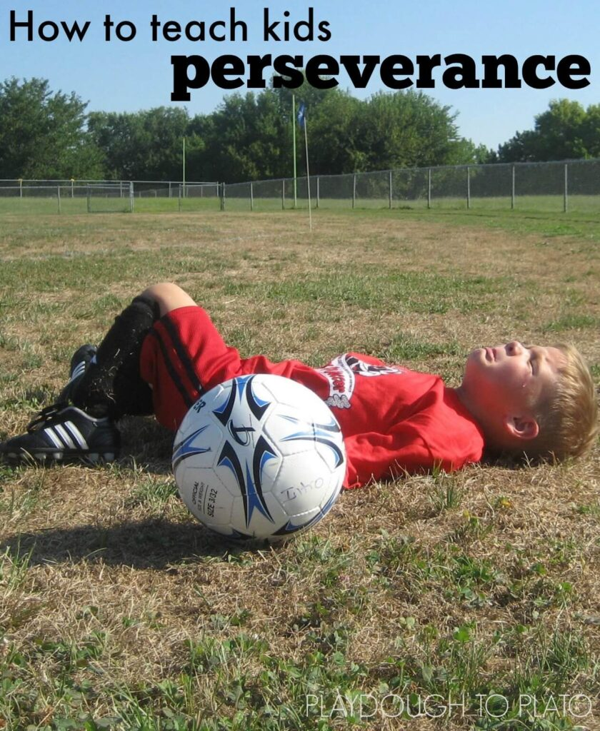 Simple ways to teach kids perserverence. This is so helpful!!