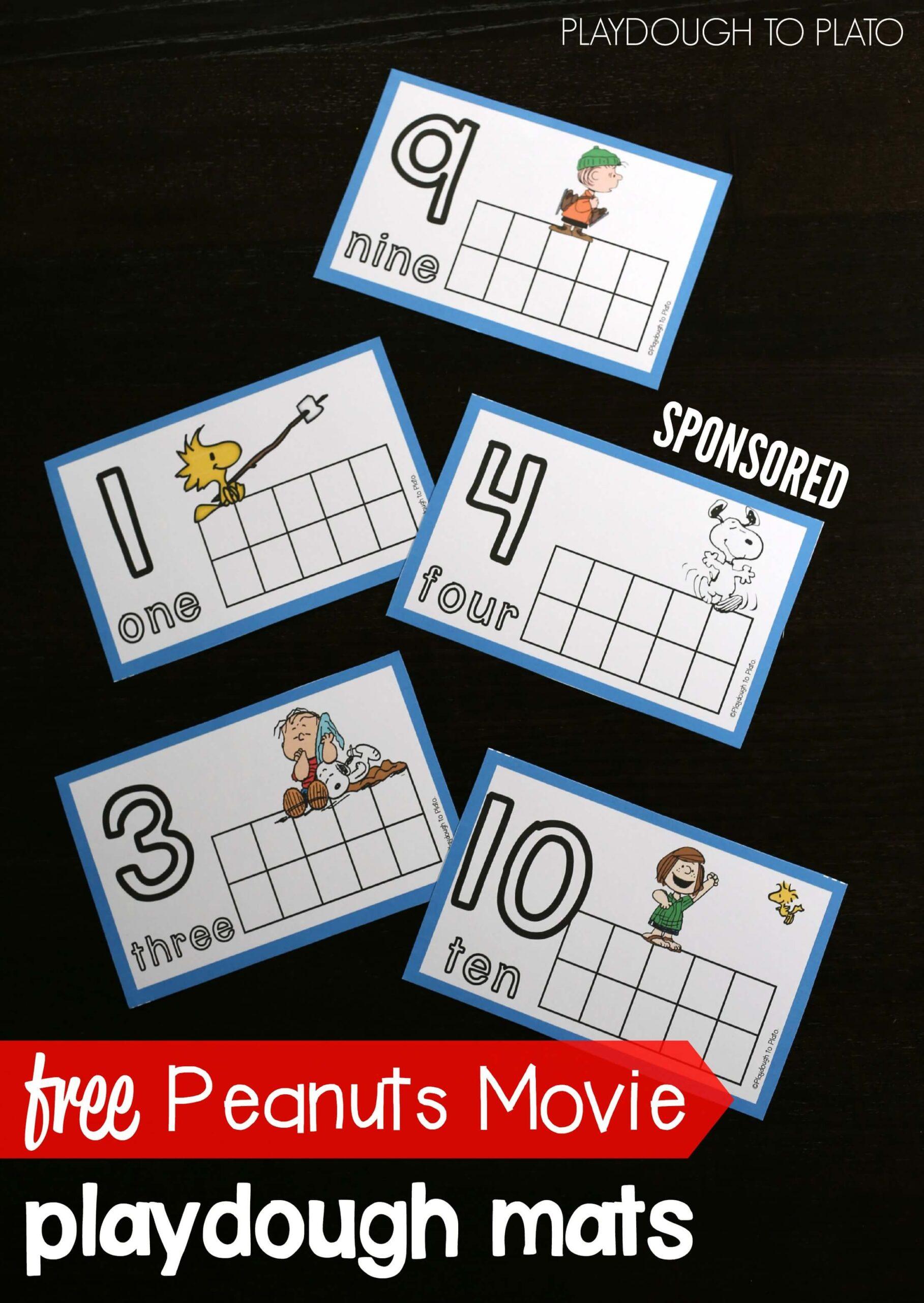 Peanuts Movie Activities