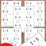 Number Bond Practice Sheets!