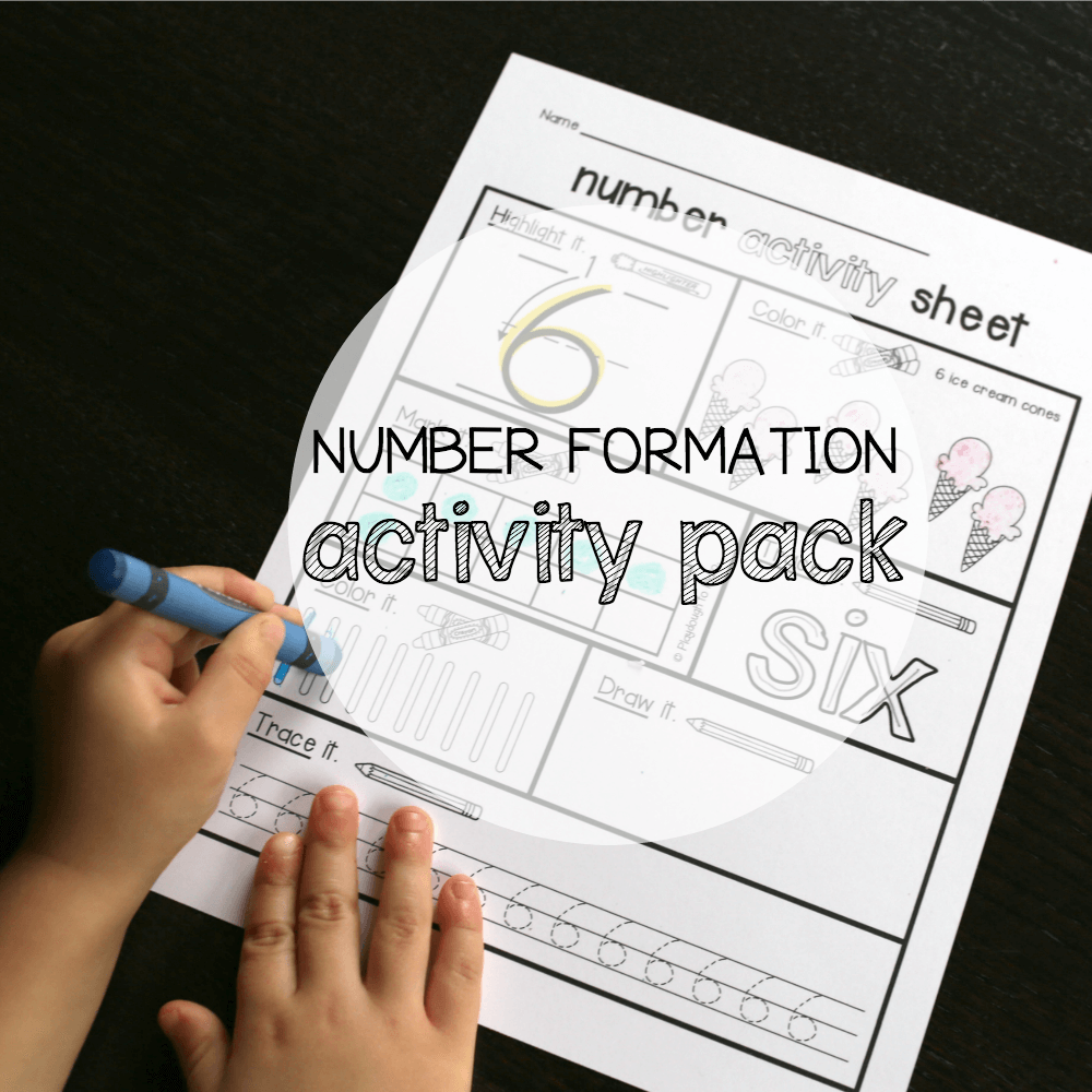 Number Formation Pack