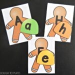 Gingerbread ABC Match Up