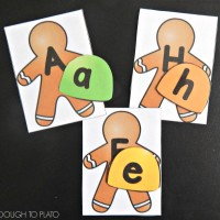 Gingerbread ABC Game