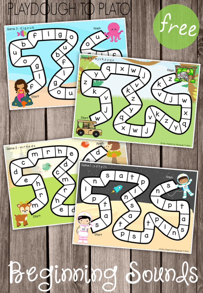 Beginning Sounds Games
