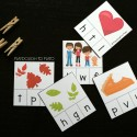 Thanksgiving themed beginning sound clip cards. Awesome guided reading activity or word work center!