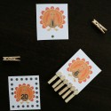 Work on counting, number recognition and fine motor skills with a fun round of turkey Count and Clip.