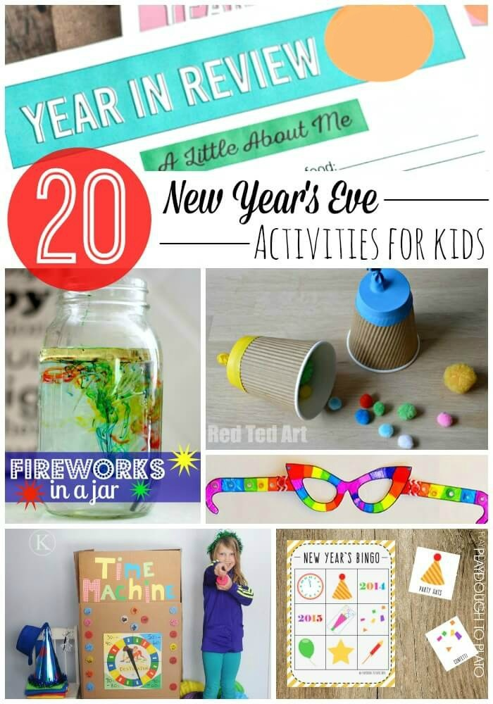 20 Must Try New Year S Eve Activities For Kids Playdough To Plato