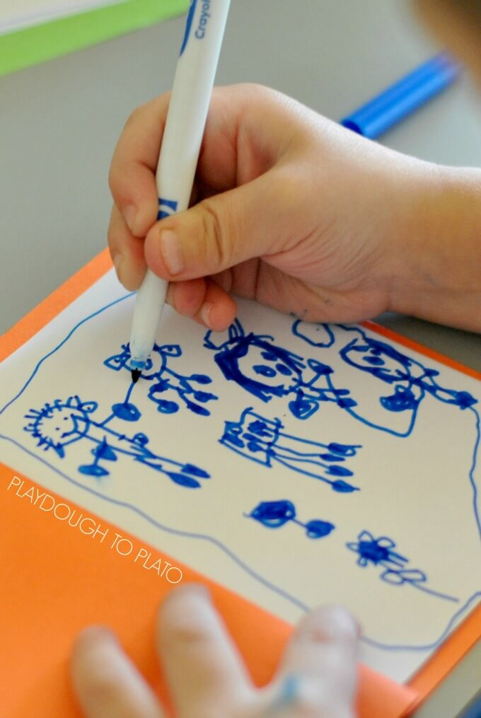 Easy journaling with toddlers and preschoolers - Playdough to Plato.2