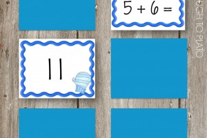 Free Math Concentration Game