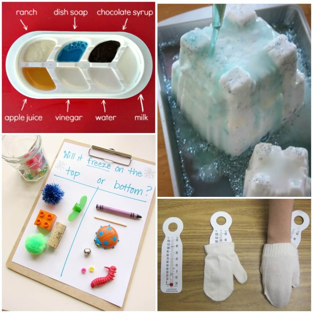 Super cool Frozen science experiments for kids!