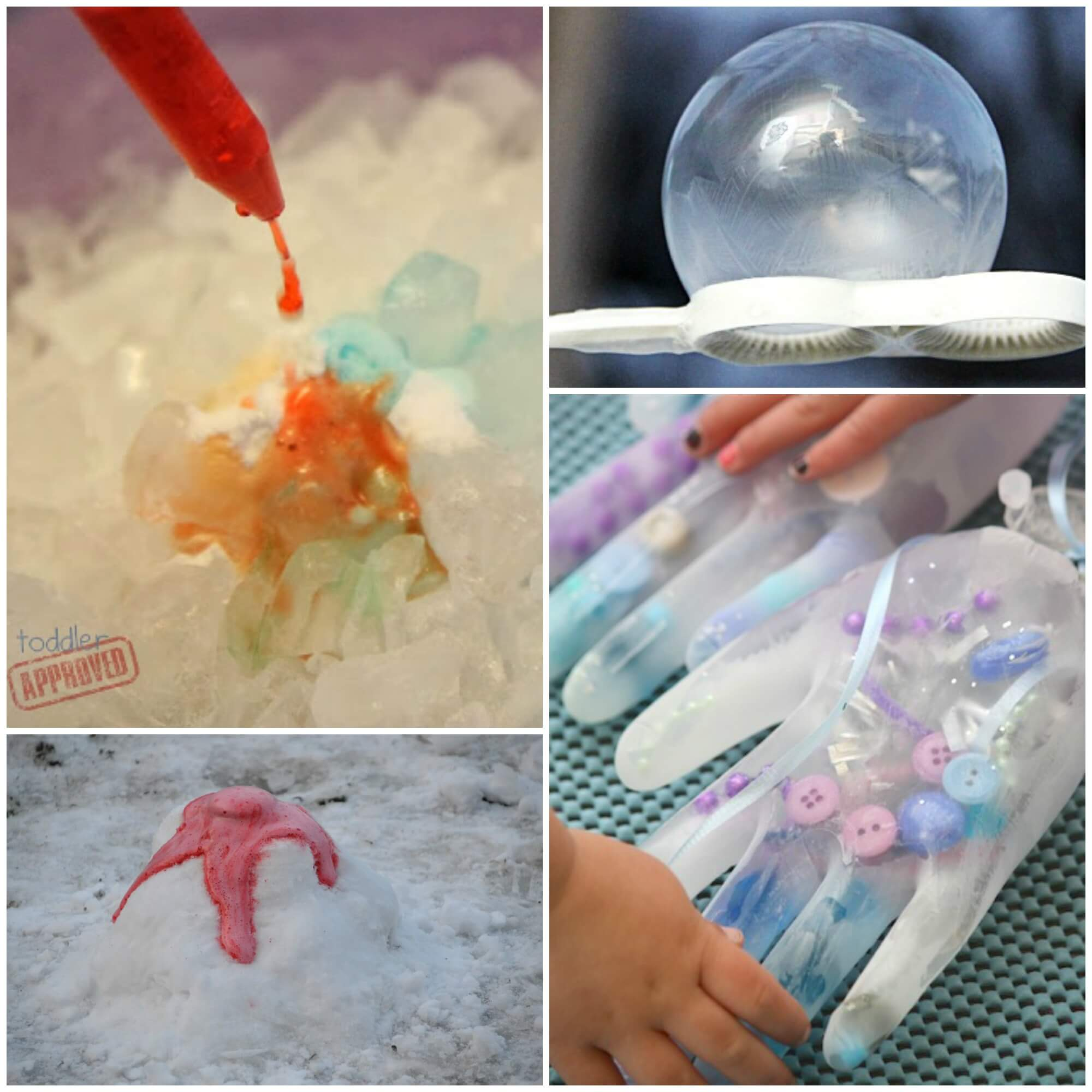 Frozen Science Experiments - Playdough To Plato