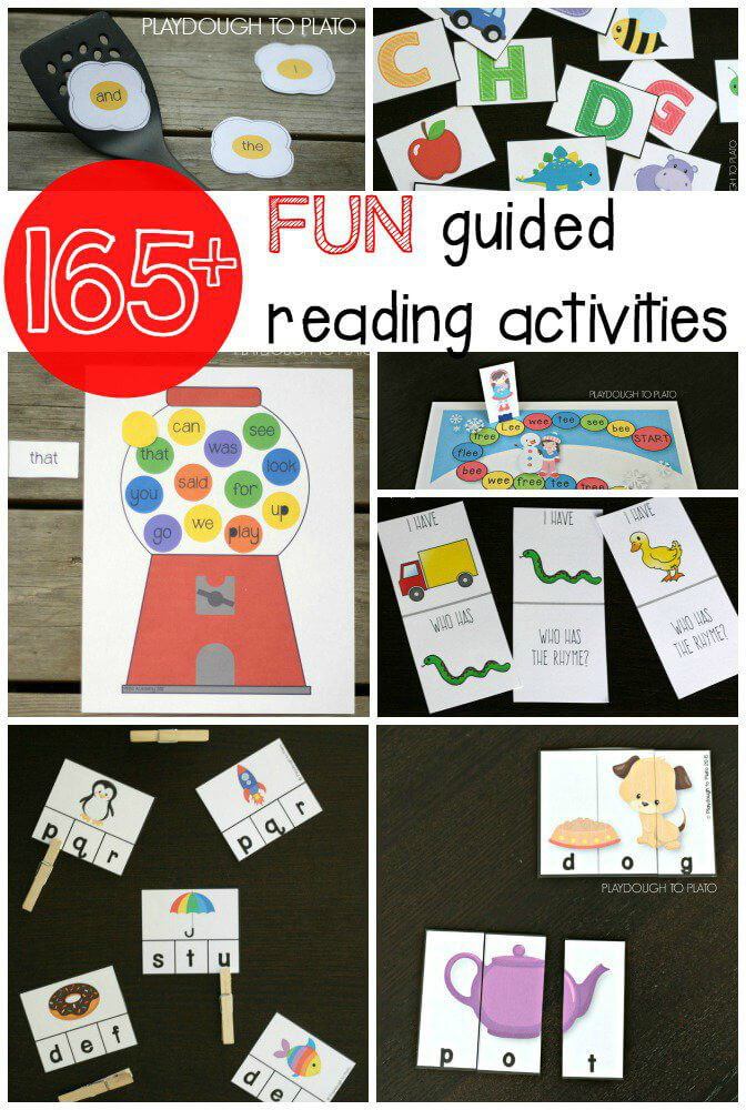 Vowel Word Cards and Puzzles - Playdough To Plato