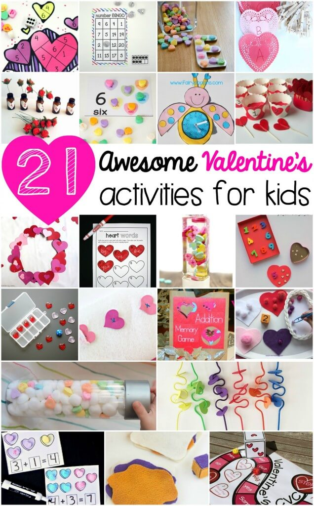 Free printable valentine games for kids and even more valentine activities