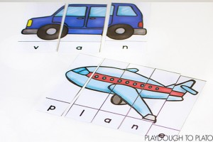 Transportation Word Puzzles