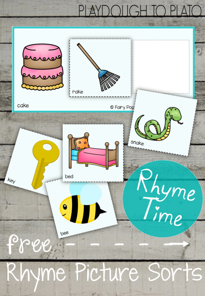 Free Rhyme Picture Sorts