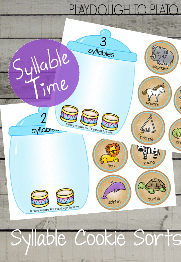 Free Syllable Printables