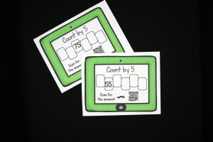 Skip Counting with QR Codes!