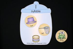 Syllable Cookie Jar Sort