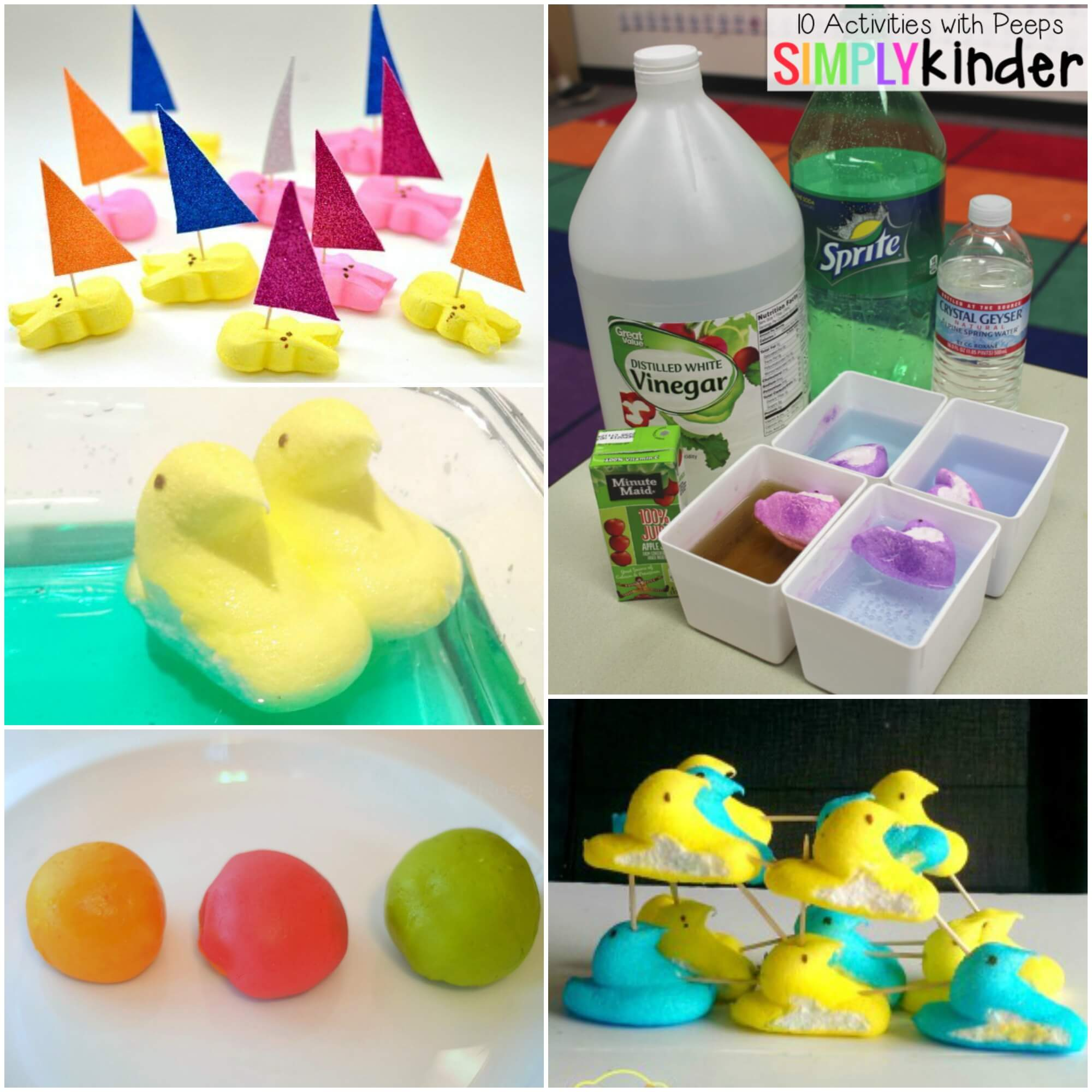 10 peeps science experiments playdough to plato