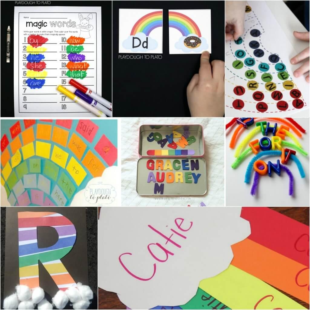 Rainbow Literacy Activities