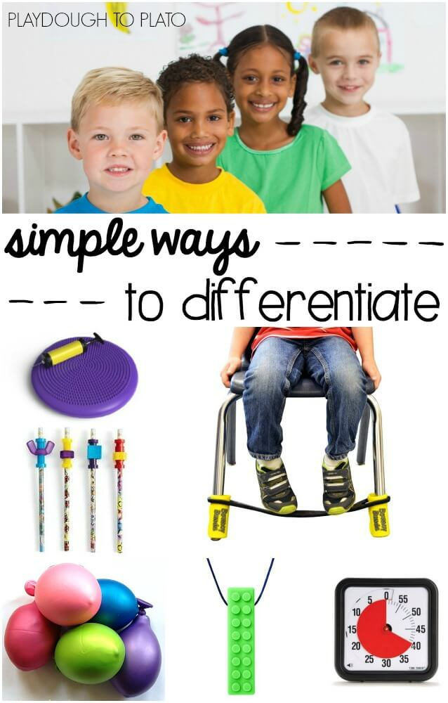 15 Simple Ways to Differentiate