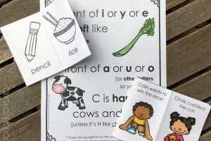 Hard and Soft C Little Reader Books