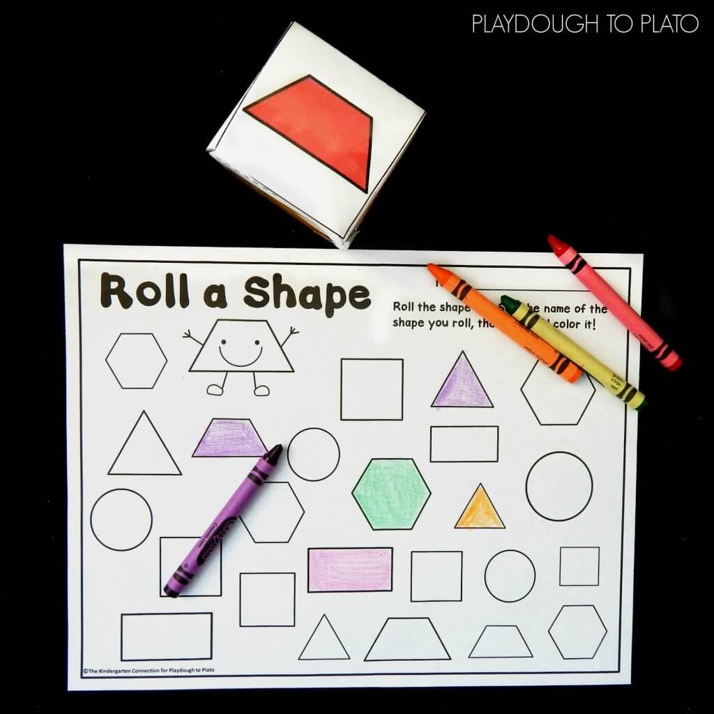 roll a shape 1