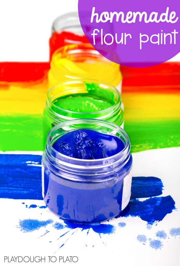 How To Make Homemade Paint Without Flour