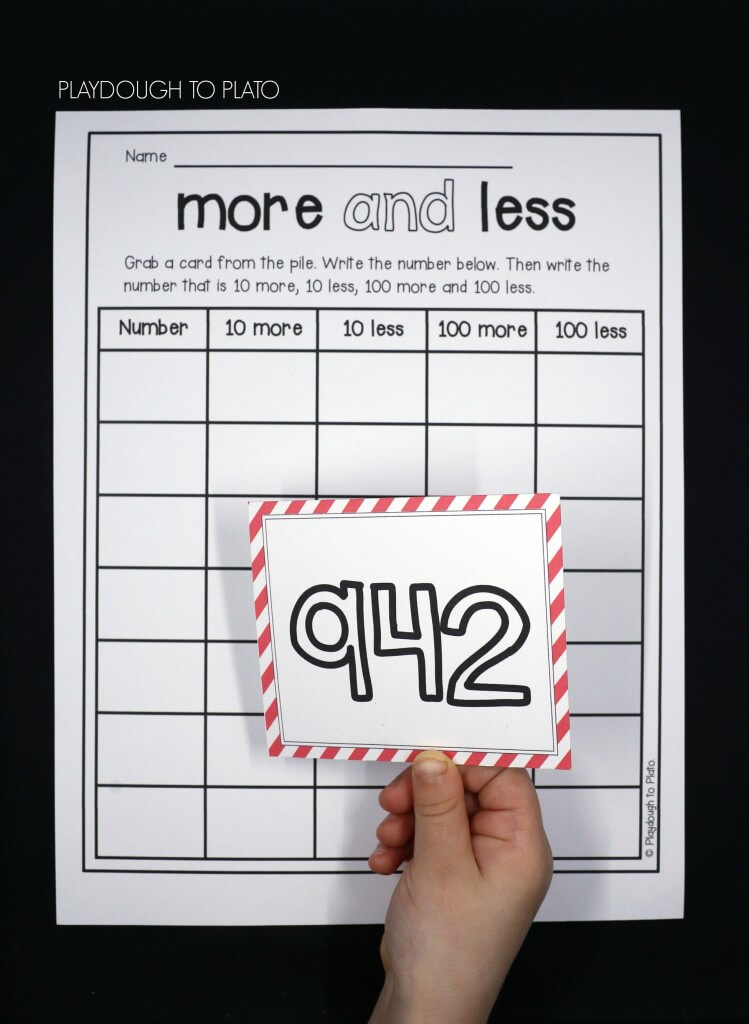 More or Less Number Sense Game for Kids!