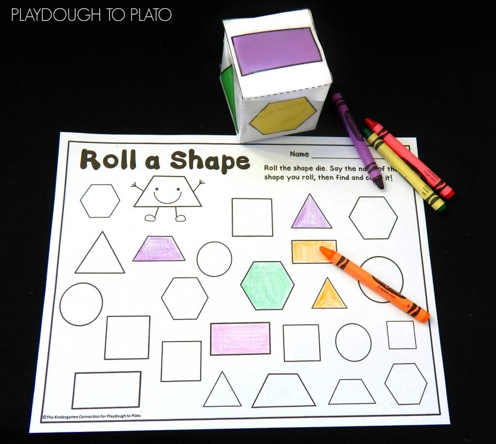 Roll a shape game!