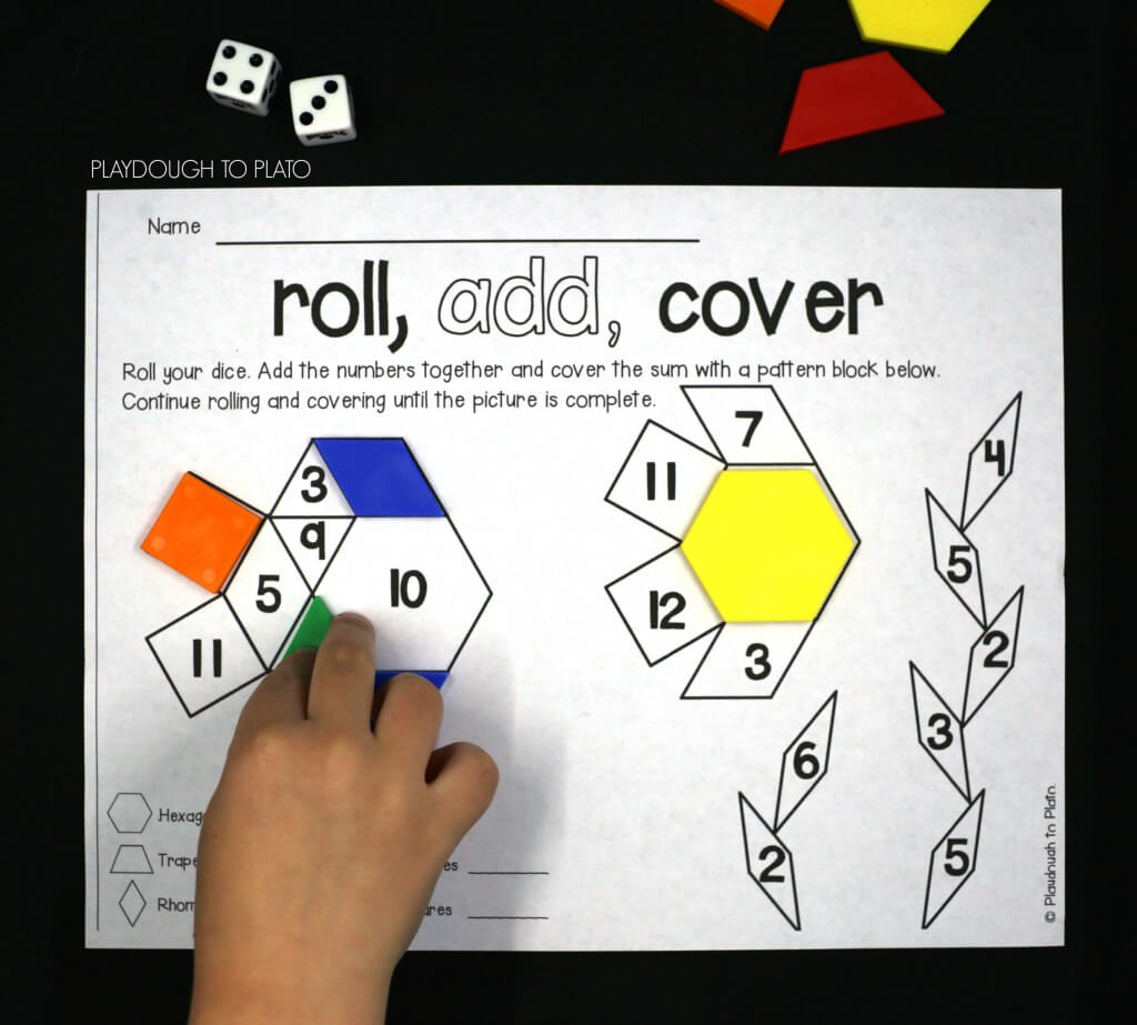 Roll, add, cover