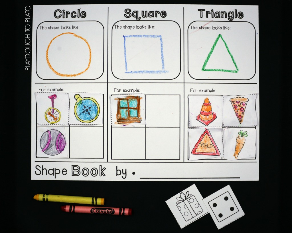 Shape Flap Book