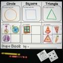 Shape Flap Book