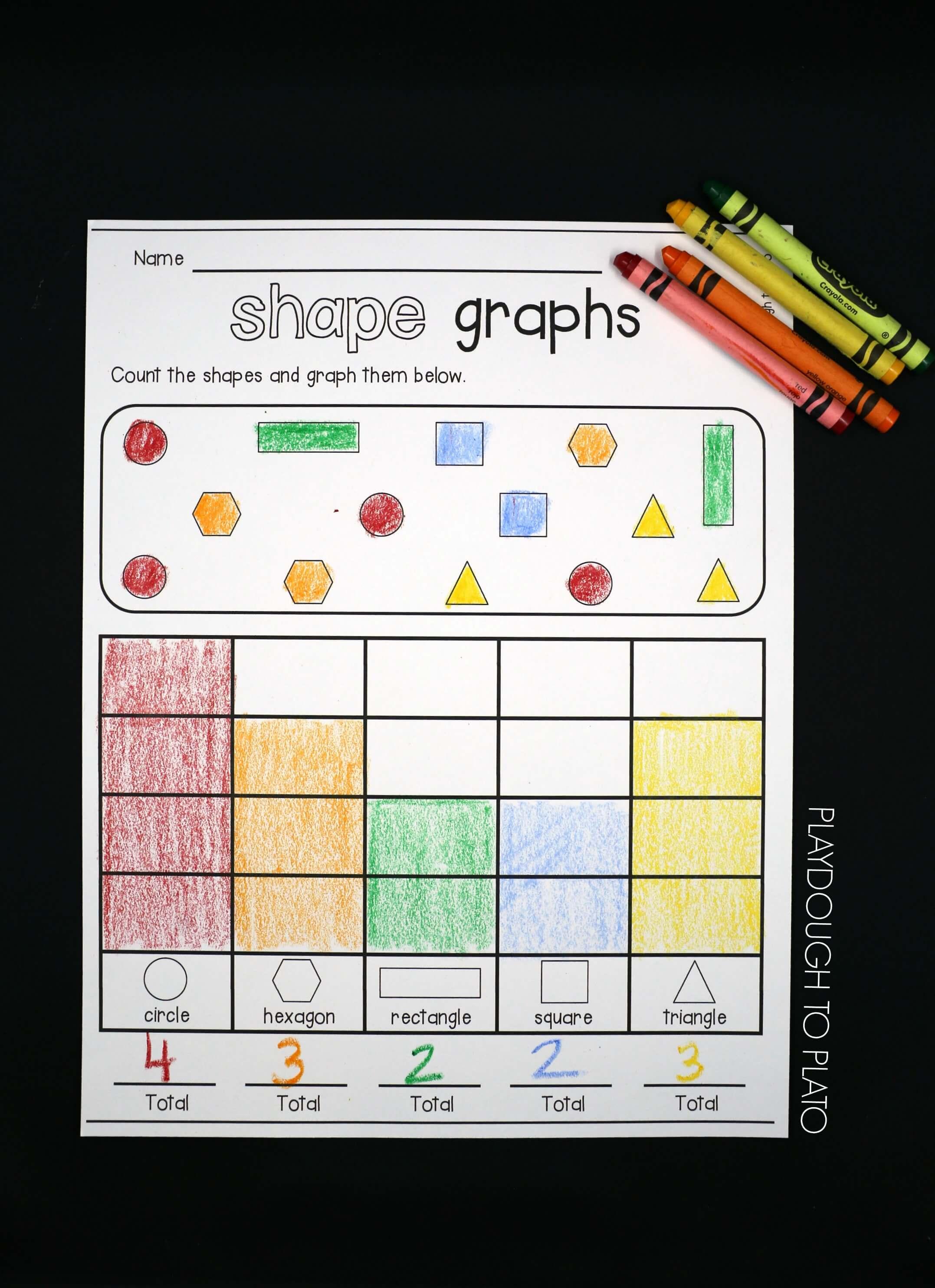 Shape Graphs - Playdough To Plato