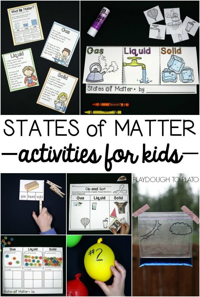 Games For Kids States Of Matter
