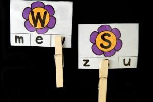 Flower Alphabet Match