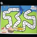 EDITABLE Bug Race Sight Word Game