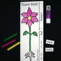 Interactive flower book. Label the parts...