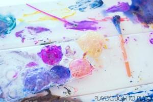 Taste-Safe Fizzy Flour Paint Recipe