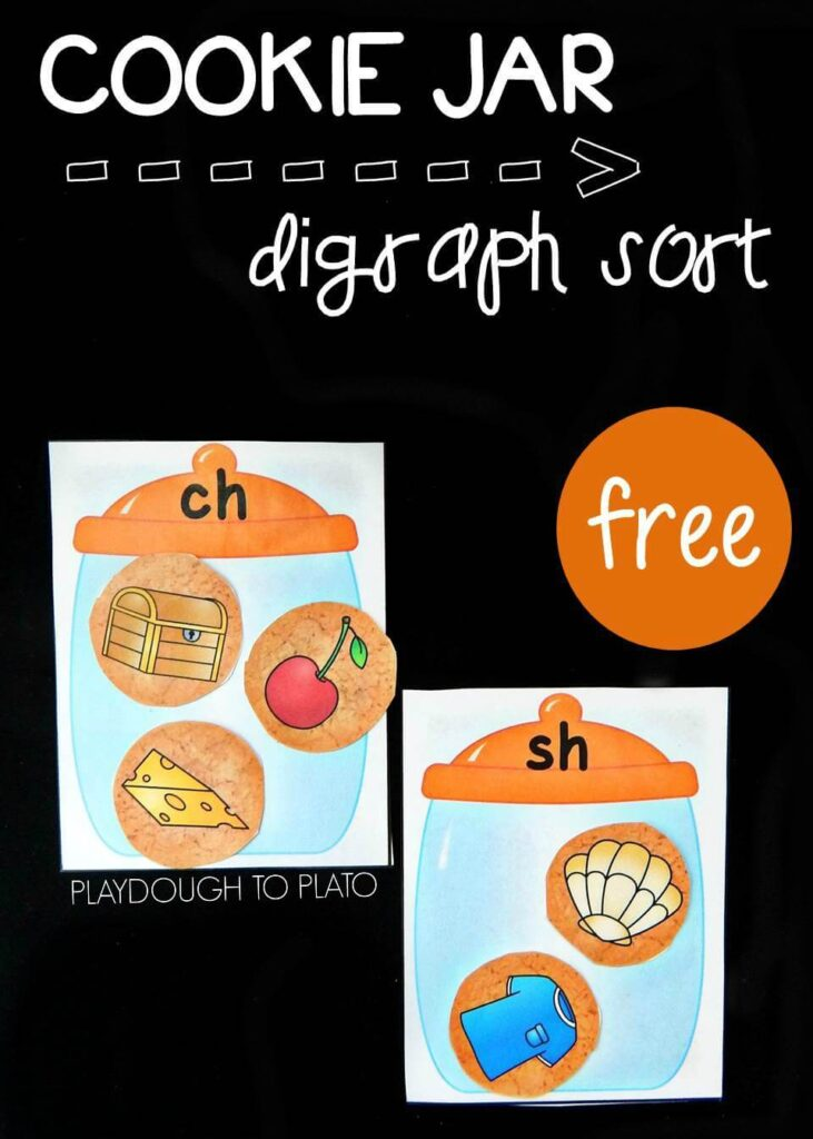 cookie jar digraphs pin