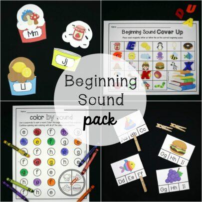 Beginning Sound Activity Pack