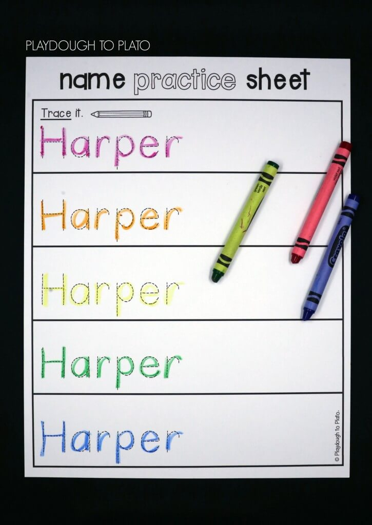 EDITABLE name practice sheets!