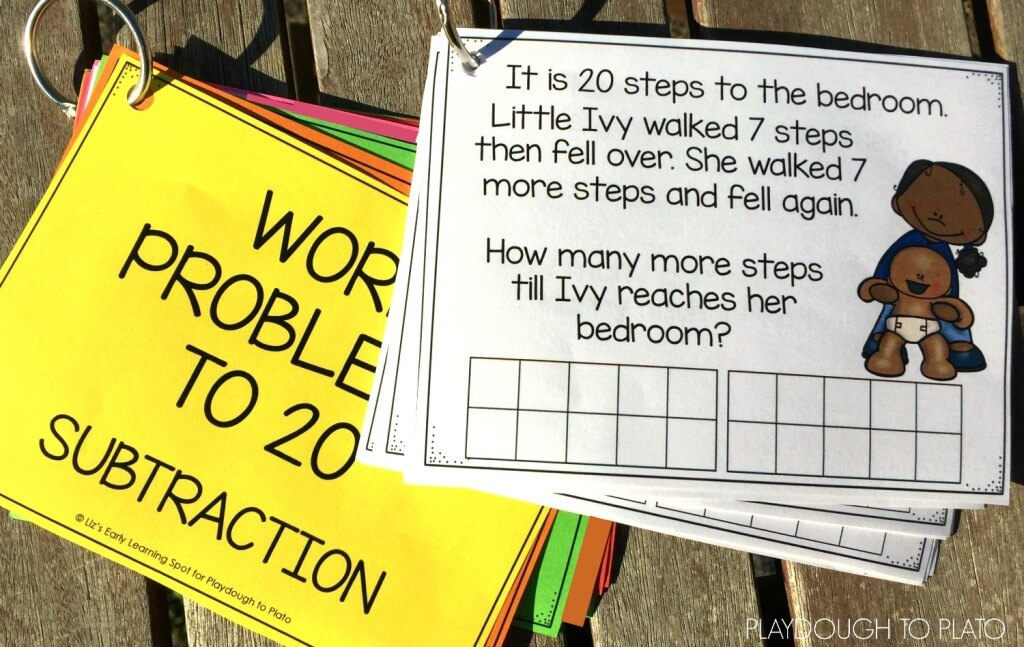 Free Subtraction Story Problems!