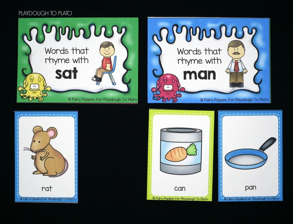 Fun rhyming sort for kids!