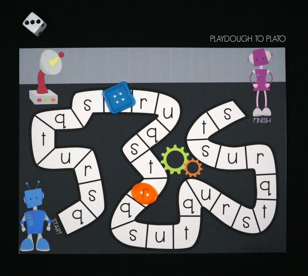 Play Robot Race!