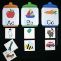 Sort words into the correct jar!