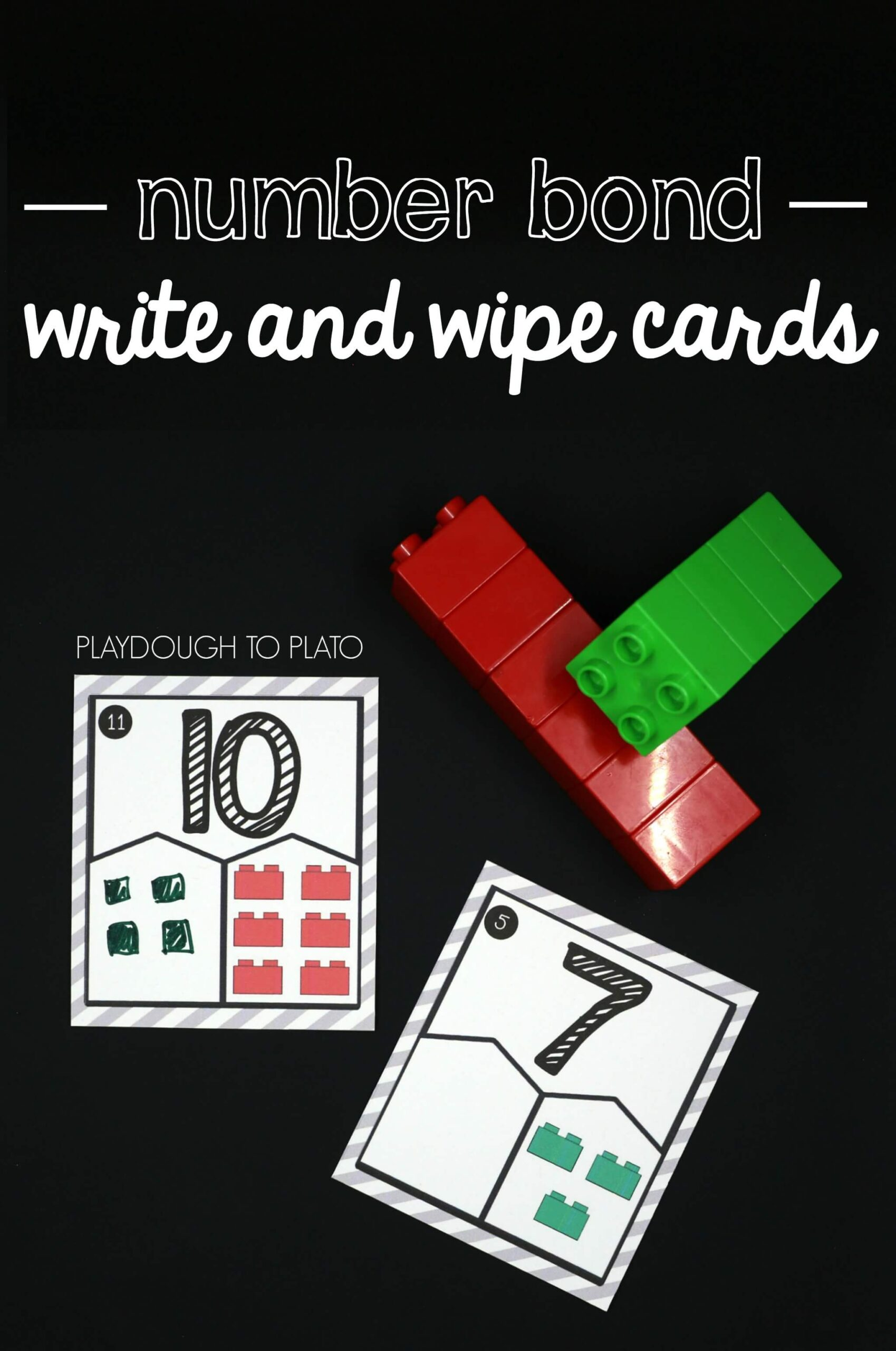 Write and Wipe Number Bonds